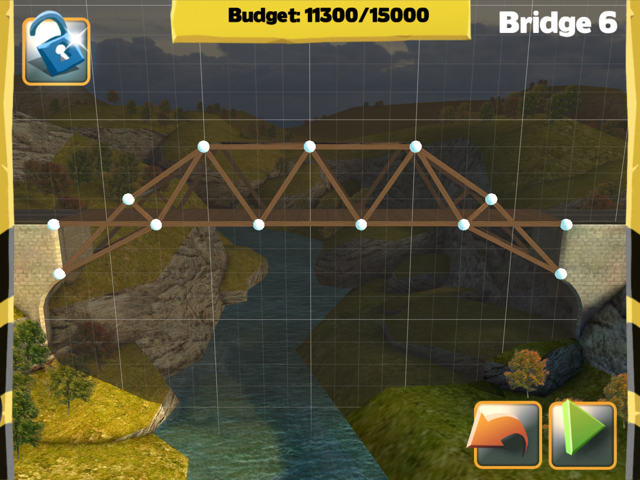 Bridge Constructor Walkthrough - Central Mainland - Bridge 6