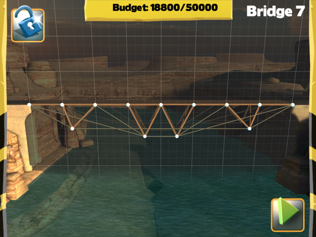 Bridge Constructor Walkthrough - Central Mainland - Bridge 7