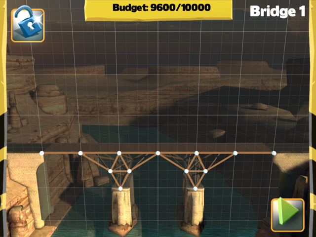 Bridge Constructor Walkthrough - Central Mainland - Bridge 1