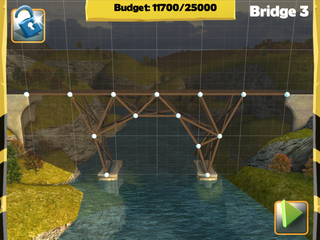 Bridge Constructor Walkthrough - Central Mainland - Bridge 3