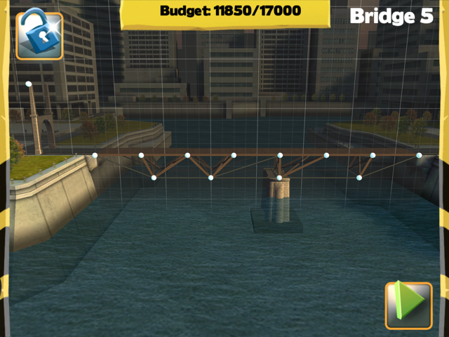 Picture of Bridge Constructor Walkthrough - Central Mainland  - Bridge 5  Imagen Bridge Constructor Tutorial - Central Mainland  - Puente 5