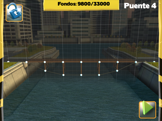 Bridge Constructor Walkthrough - Central Mainland - Bridge 8